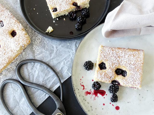 Auf der Mammilade|n-Seite des Lebens | Lifestyle Blog | Rezept | Rührkuchen mit frischen Brombeeren