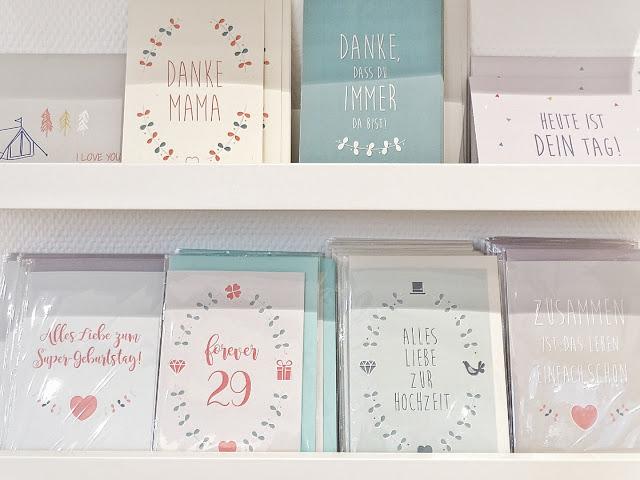 Auf der Mammilade|n-Seite des Lebens | Personal Lifestyle Blog | Shopvorstellung | Interview | Neue Bude Dortmund | Interior | Design | skandinavisches Design | monochrom | modern | Wohninspration | Glückwunschkarten | Papeterie