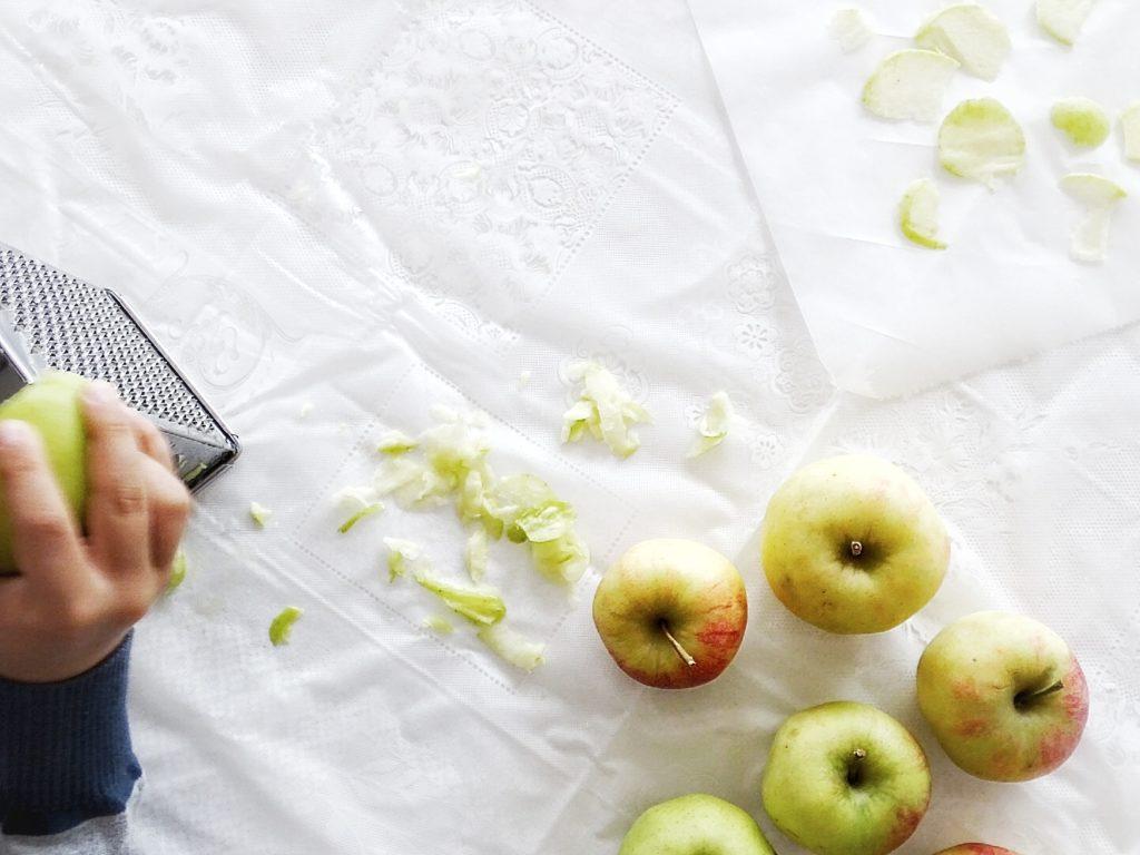 Auf der Mammilade|n-Seite des Lebens - Personal Lifestyle Blog - Herbst - Winter - Rezept - Apfelmuffins - auch mal zuckerfrei - Trifle mit Apfelmuffins, Joghurtcreme und Vanilleeis