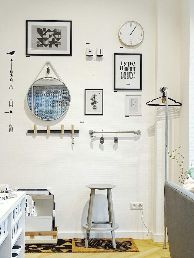 Auf der Mammilade|n-Seite des Lebens | Personal Lifestyle Blog | Shopvorstellung | Interview | Neue Bude Dortmund | Interior | Design | skandinavisches Design | monochrom | modern | Wohninspration | Wandgestaltung | Bildergalerie