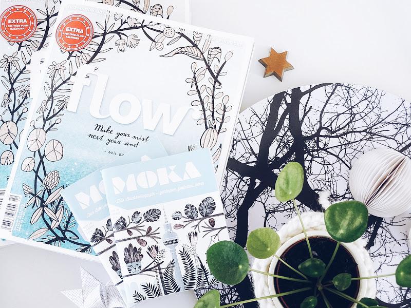 Auf der Mammilade|n-Seite des Lebens | Personal Lifestyle Blog | Lieblinge und Inspirationen der Woche | Verlosung Flow-Magazin und Büchermagazin MOKA | Pilea Peperomioides