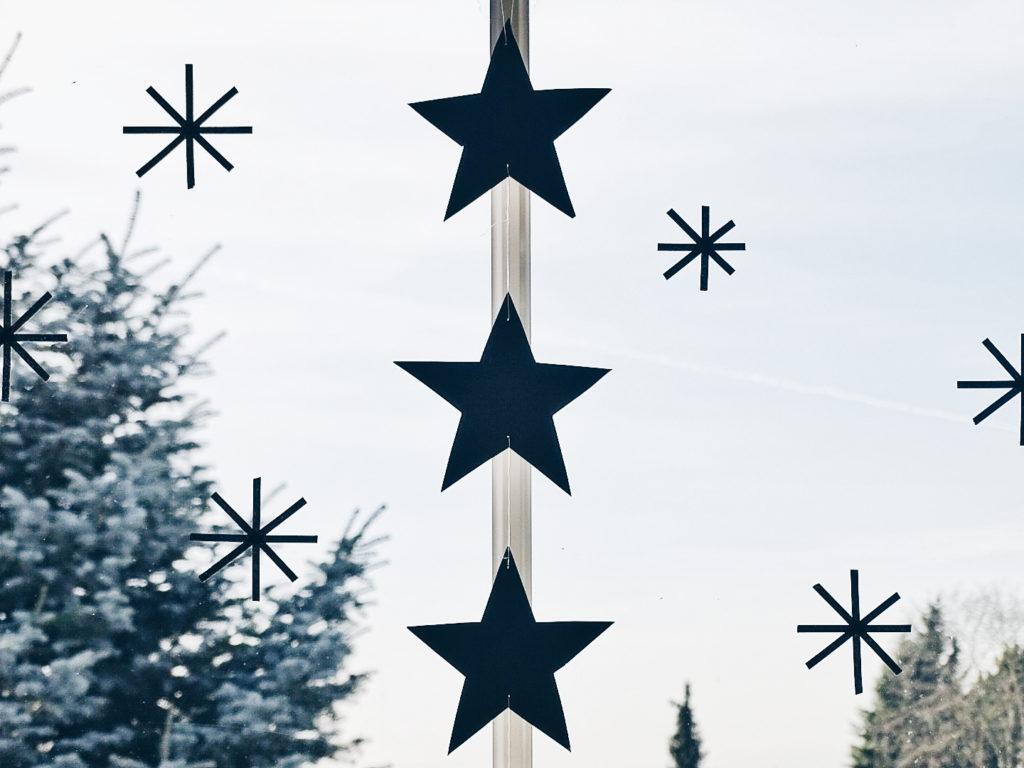 Auf der Mammilade|n-Seite des Lebens | Personal Lifestyle Blog | 5 Lieblinge und Inspirationen der Woche und Frohe Weihnachten | Weihnachtsdeko | DIY-Sterne aus Masking Tape für das Fenster