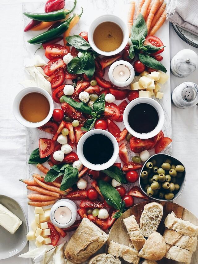 Auf der Mammilade|n-Seite des Lebens | Personal Lifestyle Blog | Giveaway eines Essig-Probiersets von TRY FOODS | Denn Essig ist noch besser, als man denkt | Salatplatte zum Selbermachen mit Essig-Tasting