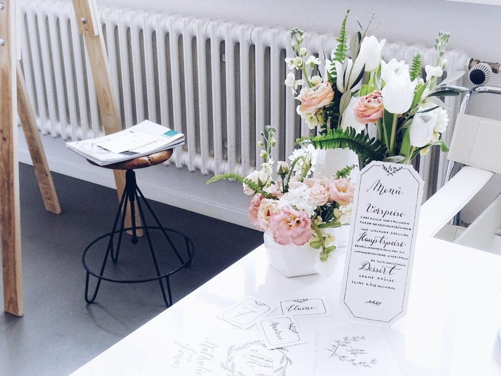 Auf der Mammilade|n-Seite des Lebens | Personal Lifestyle Blog | Kalligrafie | DIY | Jeannette Mokosch | sisterMAG Office Berlin | Workshop