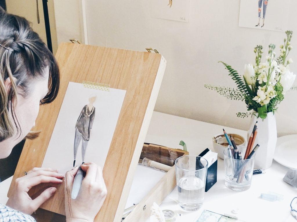 Auf der Mammilade|n-Seite des Lebens | Personal Lifestyle Blog | H.A.P.P.Y Veranstaltung #starthappy | sisterMAG Office Berlin | Workshop | Emma Block Illustrationen