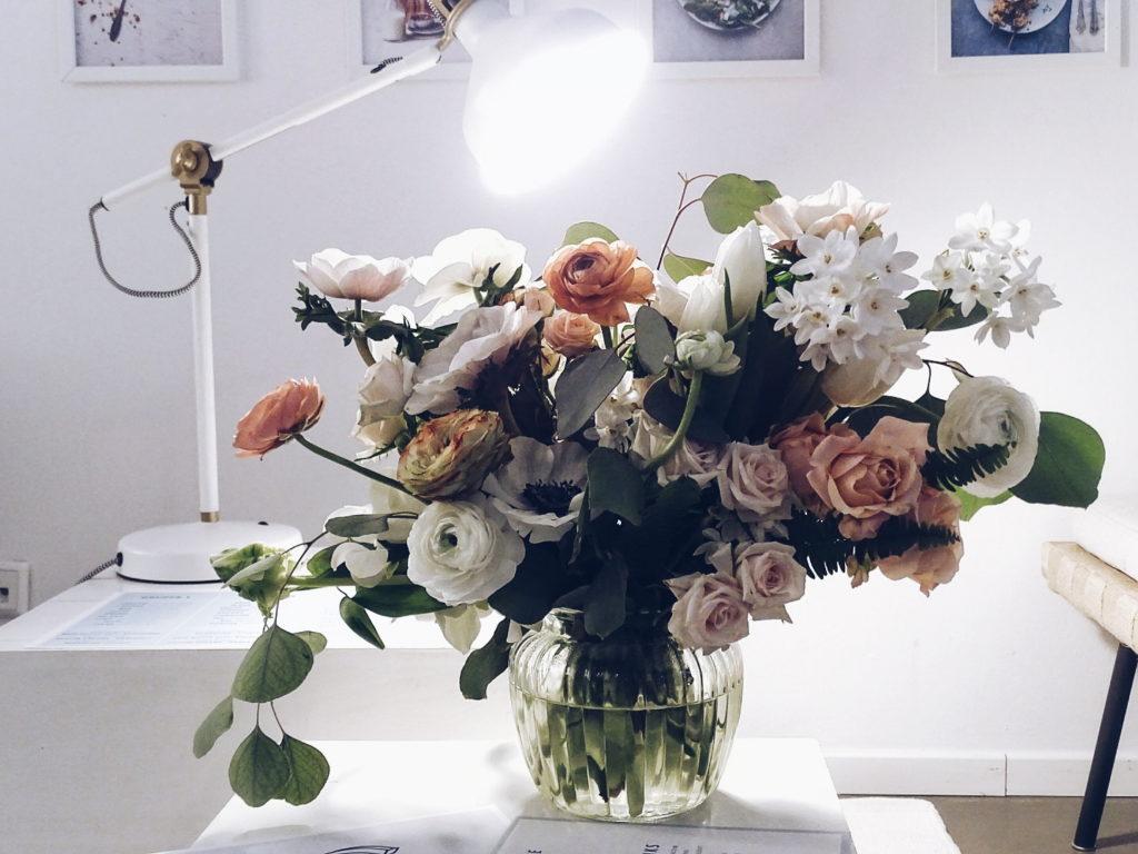 Auf der Mammilade|n-Seite des Lebens | Personal Lifestyle Blog | Blumen-Bouquet Botanic Art | sisterMAG Office Berlin | Workshop