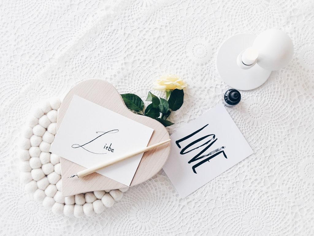 Auf der Mammilade|n-Seite des Lebens | Personal Lifestyle Blog | Kalligrafie | DIY | Liebe | Jeannette Mokosch