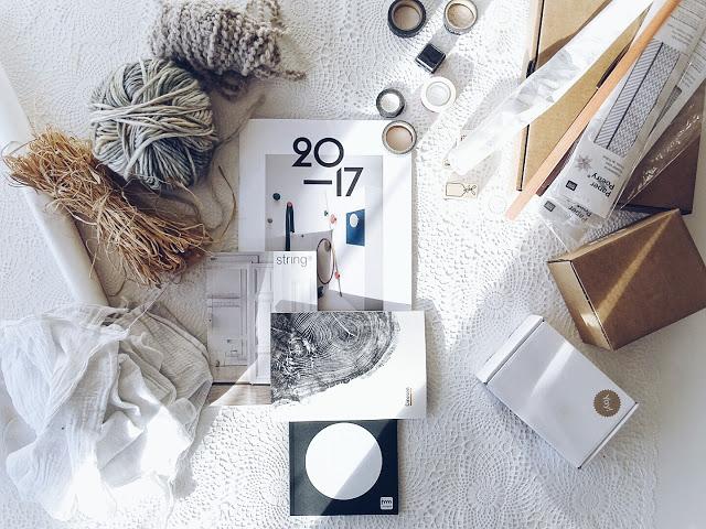 Auf der Mammiladen-Seite des Lebens | Personal Lifestyle Blog | Lieblinge und Inspirationen der Woche | Geschenkverpackungen basteln mit Papierresten, Wolle und Bast