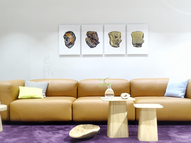 Auf der Mammiladen-Seite des Lebens | Personal Lifestyle Blog | Impressionen und Trends von der Internationalen Möbelmesse IMM 2017 in Köln | Messetouren mit SoLebIch und Blogst Lounge | Ledersofa Vitra