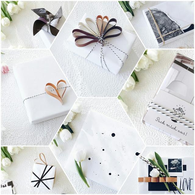 Auf der Mammiladen-Seite des Lebens | Personal Lifestyle Blog | 5 Lieblinge der Woche | Minimalistisches Wohnen mit viel Weiß | 8 DIY-Ideen für Geschenkverpackungen