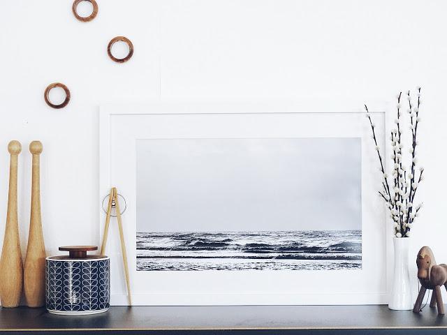 Auf der Mammiladen-Seite des Lebens | A personal Lifestyle Blog | 16 Fakten ueber die Nordseeinsel Juist und Urlaubserinnerungen fuer die Wand mit eigenen, ausgedruckten Fotos hinter Glas | Landschaftsaufnahmen und Familienschnappschüsse und Dekoideen