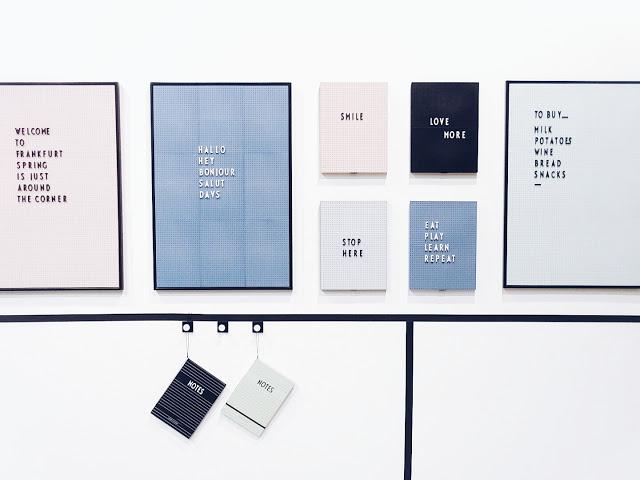 Auf der Mammiladen-Seite des Lebens | Personal Lifestyle Blog | Impressionen und Trends der Ambiente Messe 2017 in Frankfurt | Memo Board Monograph Design Letters