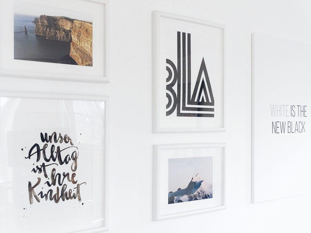 Auf der Mammilade-n-Seite des Lebens | Personal Lifestyle Blog | 5 Lieblinge, Weisheiten und Wohneinblicke mit viel Weiß der Woche | Wandgestaltung | Bildergalerie