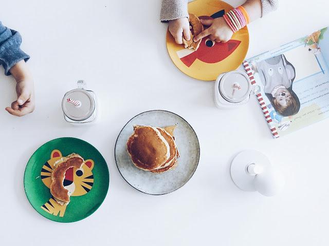Auf der Mammilade-n-Seite des Lebens | Personal Lifestyle Blog | 5 Lieblinge, Weisheiten und Wohneinblicke mit viel Weiß der Woche | Rezept fuer saftige Bananen-Pfannkuchen | Familienessen | Kochen fuer Kinder