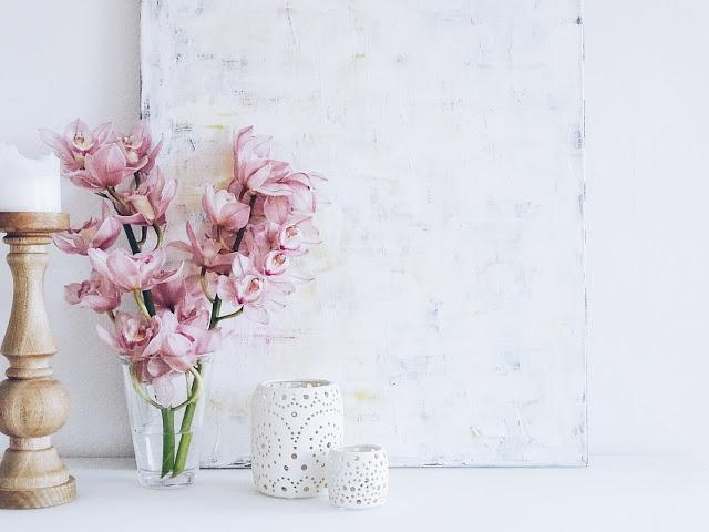 Auf der Mammilade-n-Seite des Lebens | Personal Lifestyle Blog | 5 Lieblinge, Weisheiten und Wohneinblicke mit viel Weiß der Woche | Orchideen in Ros