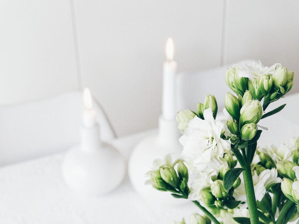 Auf der Mammilade|n-Seite des Lebens | Personal Lifestyle Blog | Lieblinge und Weiß|s|heiten der Woche | Fruehlingsdekoration | weisse Kalanchoe