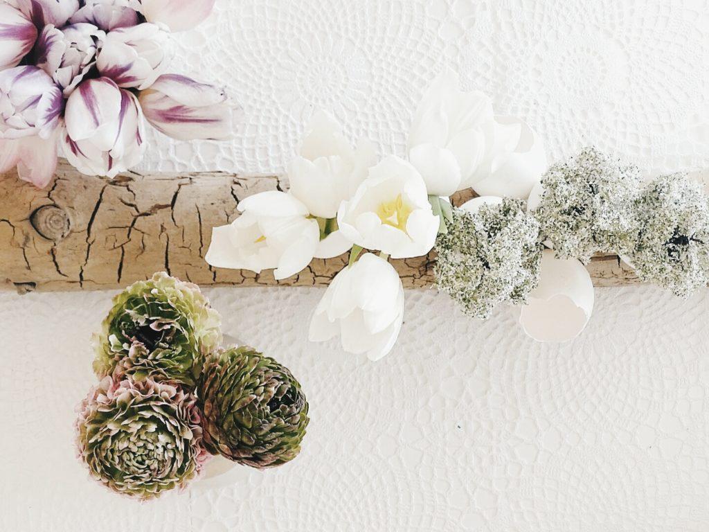 Auf der Mammilade|n-Seite des Lebens | Personal Lifestyle Blog | Lieblinge und Inspirationen der Woche #16 | Fruehlingsdeko | weiße Tulpen | Ranunkeln