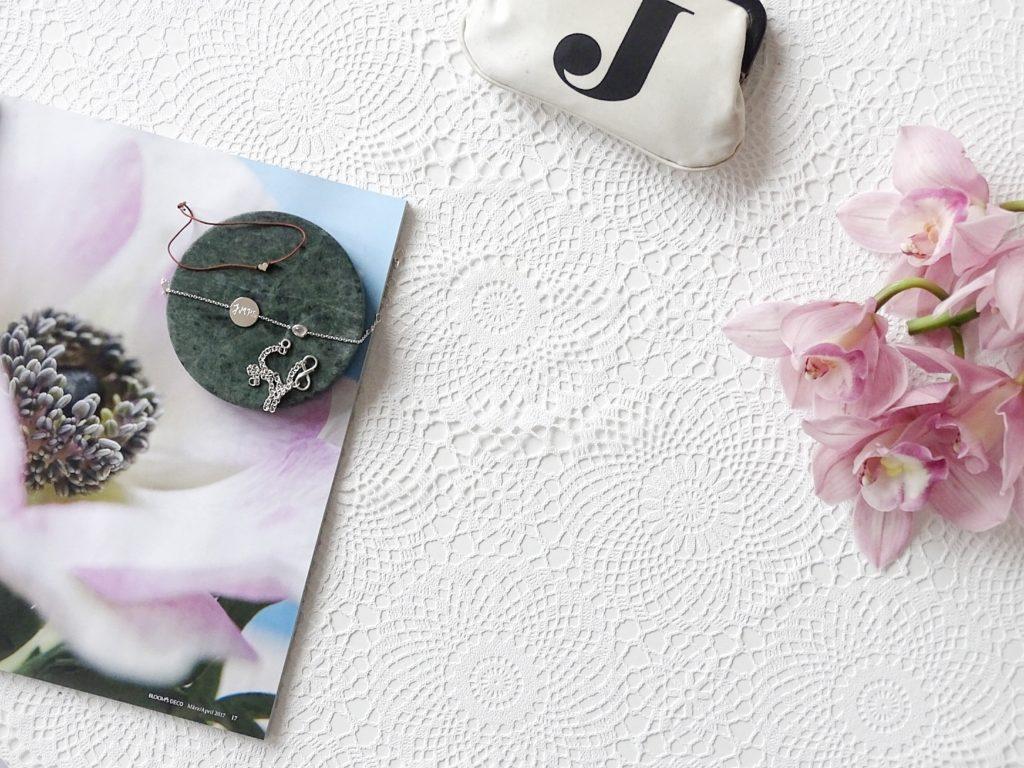 Auf der Mammilade|n-Seite des Lebens | Personal Lifestyle Blog | Lieblinge und Weiß|s|heiten der Woche | Fruehlingsdekoration | Orchideen | Schmuck | Armbänder