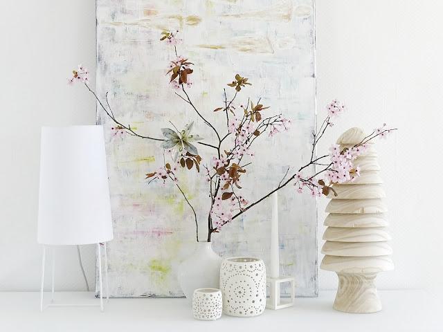 Kirschblütenzweige | DIY-Blüte aus gefalteten Geldscheinen zum Verschenken | Auf der Mammilade|n-Seite des Lebens | Personal Lifestyle und Interior Blog