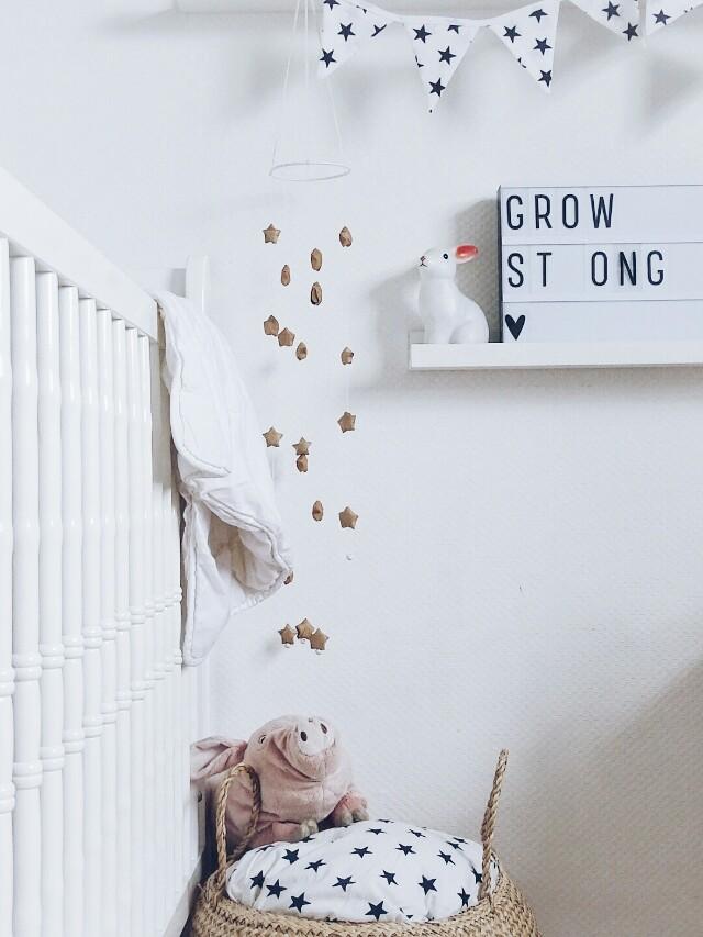 Auf der Mammilade|n-Seite des Lebens | Personal Lifestyle Blog | Lieblinge und Weiß|s|heiten der Woche | Dekoration und Inspiration Kinderzimmer | DIY Mobile