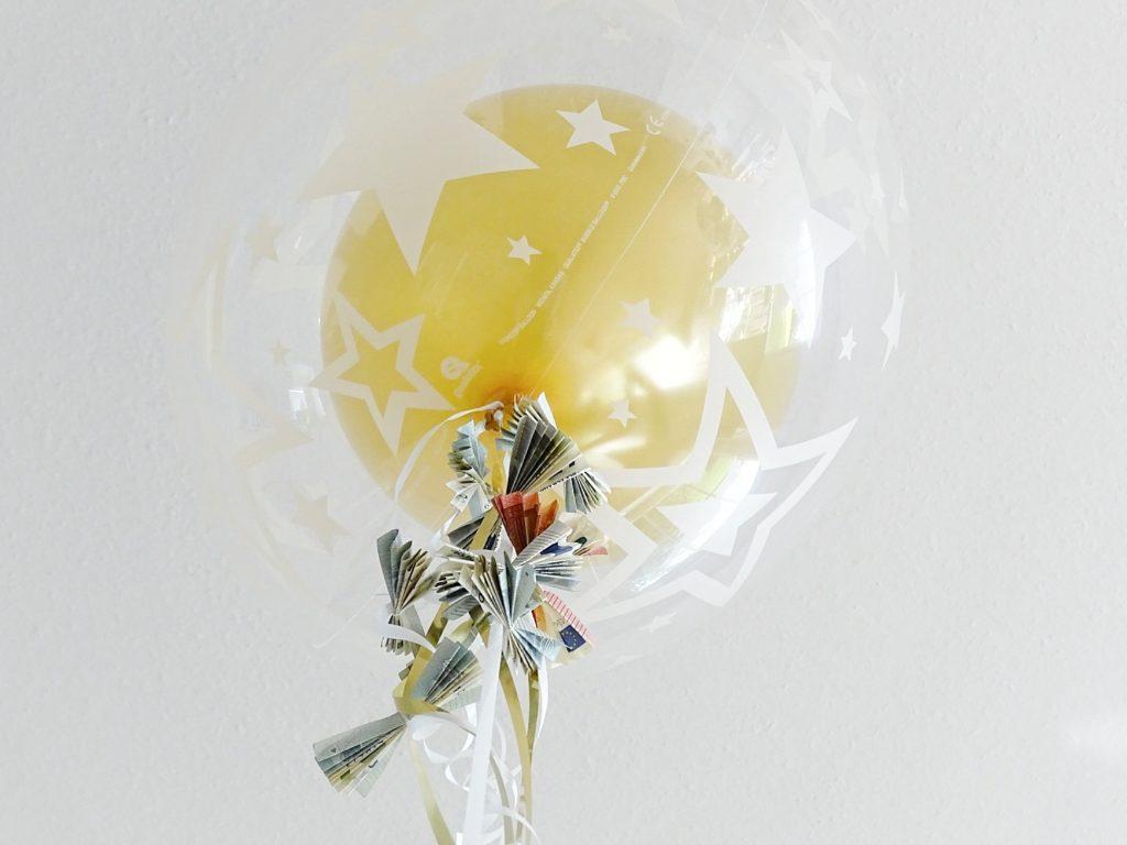Geldgeschenke hübsch verpacken | Geld als Drachenschnur am Helium-Ballon | www.mammilade.blogspot.de | Lieblinge und Inspirationen der Woche
