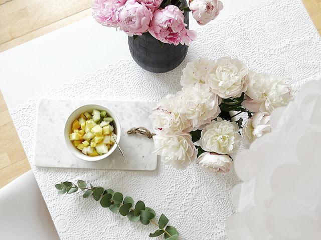 Pfingstrosen weiß und rosé | 12 Nachmach-Tipps und DIY-Ideen im Juni | www.mammilade.blogspot.de
