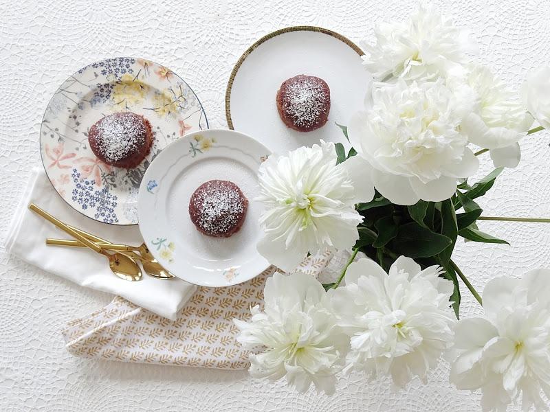 Kleine Schokokuchen backen ohne Butter, Eier, Milch - www.mammilade.blogspot.de