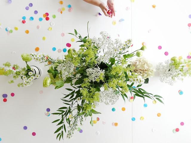 Deko-Idee mit Blumen quer durch Garten, Laden und Balkon - Deko-Inspiration für Geburtstagsfeiern - www.mammilade.blogspot.de - 5 Lieblinge, Momente und Motive der Woche