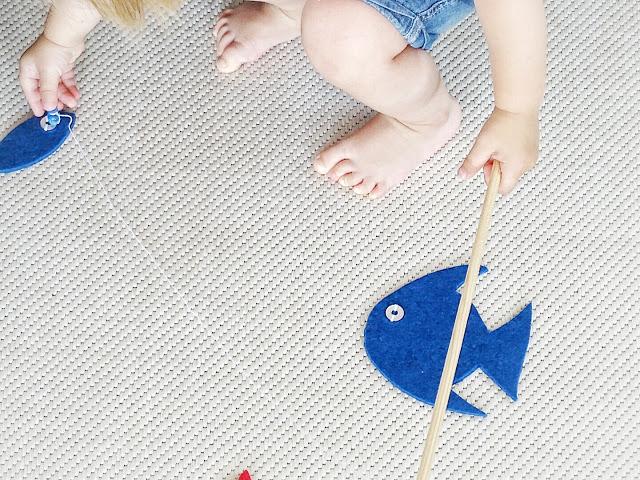 DIY-Angelspiel aus Filz für Kinder - 10 Nachmach-Tipps und DIY-Ideen im Juli - www.mammilade.blogspot.de