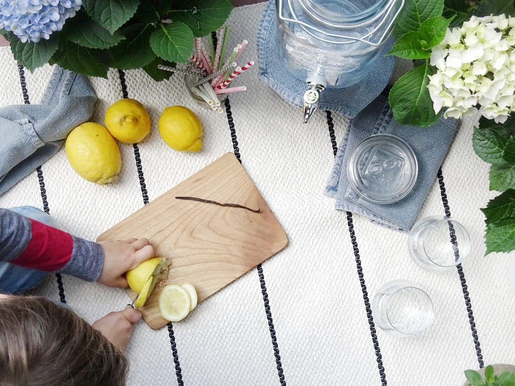 Apfel-Zitronen-Limonade mit Vanille - www.mammilade.blogspot.de
