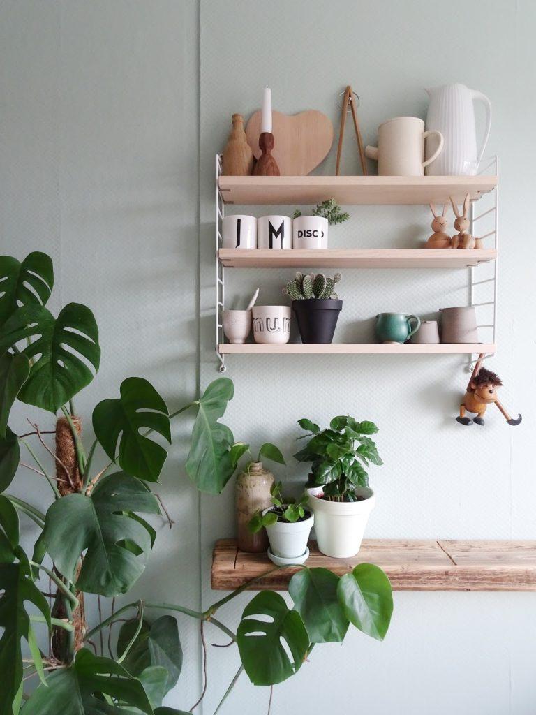Küchen-Makeover mit neuer Farbe und neuem, altem Holz für frischen ...