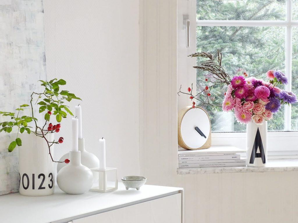 Mit Dahlien dekorieren - 3 Styling-Ideen mit Dahlien - http://mammilade.blogspot.de