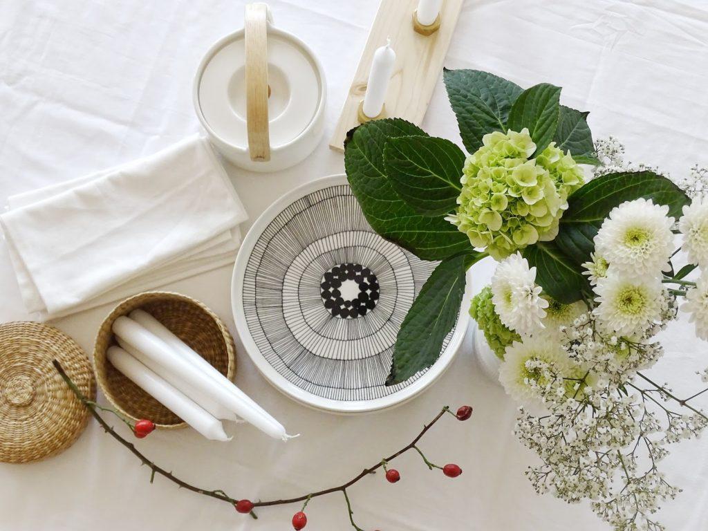 Herbstliche Tischdeko - Fotoaktion #12von12 - https://mammilade.blogspot.de