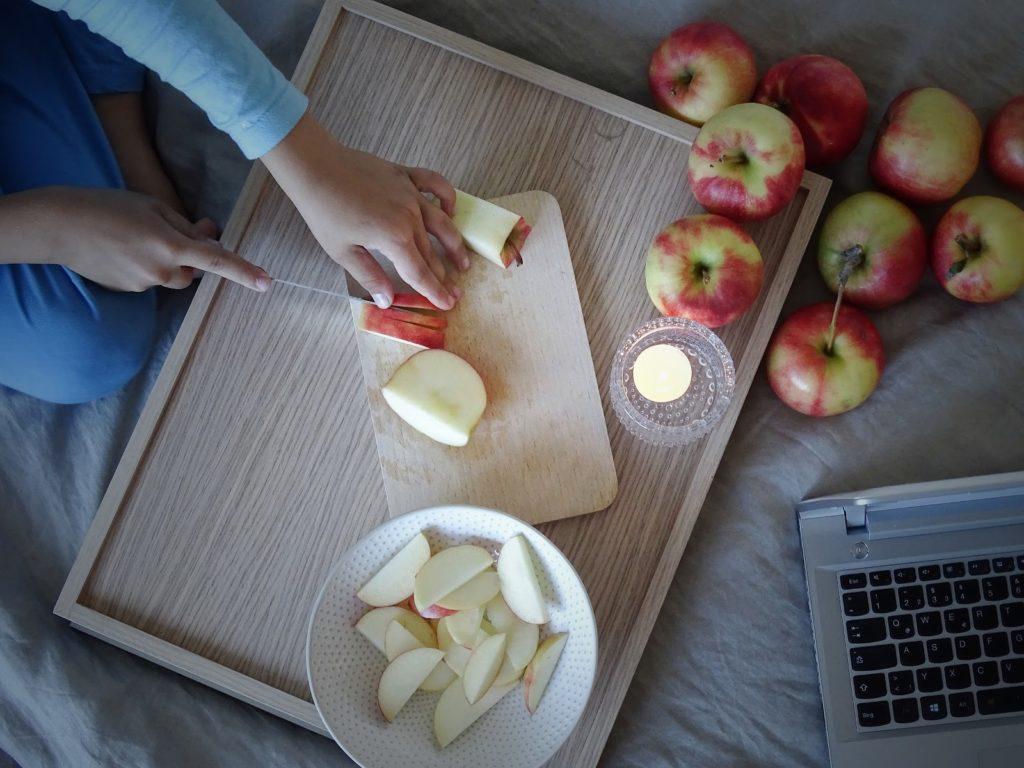 Gemütliche Herbst-Wochenenden und Quark-Apfel-Auflauf mit Zimt - https://mammilade.blogspot.de