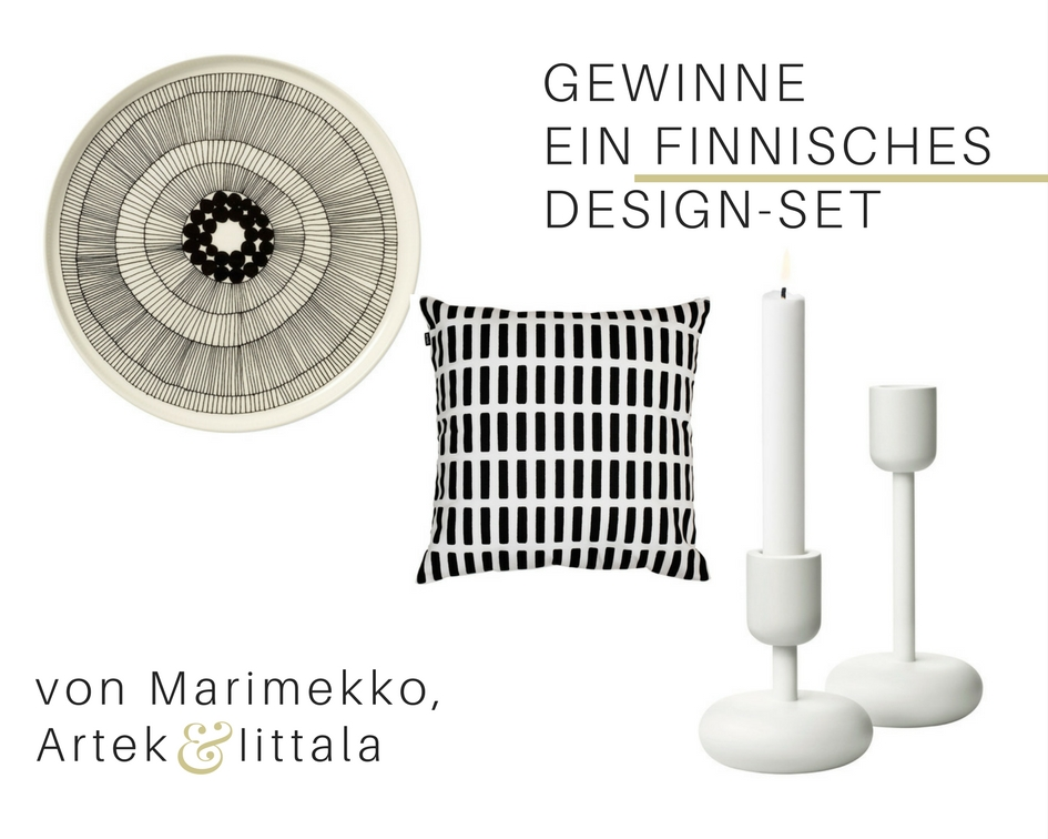 Gewinne Design-Klassiker von Marimekko, Iittala, Artek - https://mammilade.blogspot.de