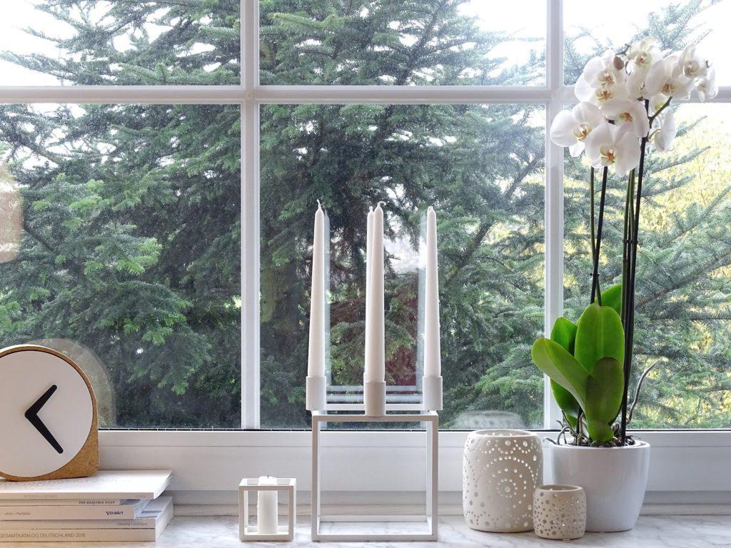 Styling-Idee für Fensterbänke - Fotoaktion #12von12 und 1 Tag in 12 Bildern - https://mammilade.blogspot.de
