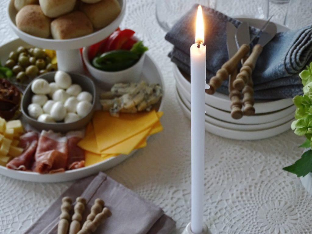 5 Deko-, Verwendungs- und Geschenk-Ideen mit Etageren - Etageren als Mini-Büffet für Vorspeisen - https://mammilade.blogspot.de