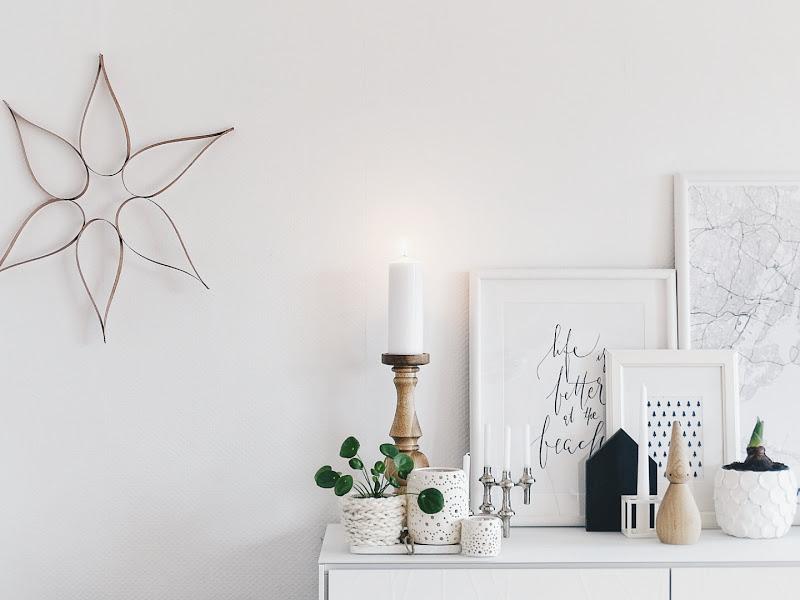 DIY-Ornament für die Wand aus Furnierholz - 14 DIY-Nachmach-Ideen, Deko-Inspirationen und Rezepte für den Dezember und Weihnachten - https://mammilade.blogspot.de