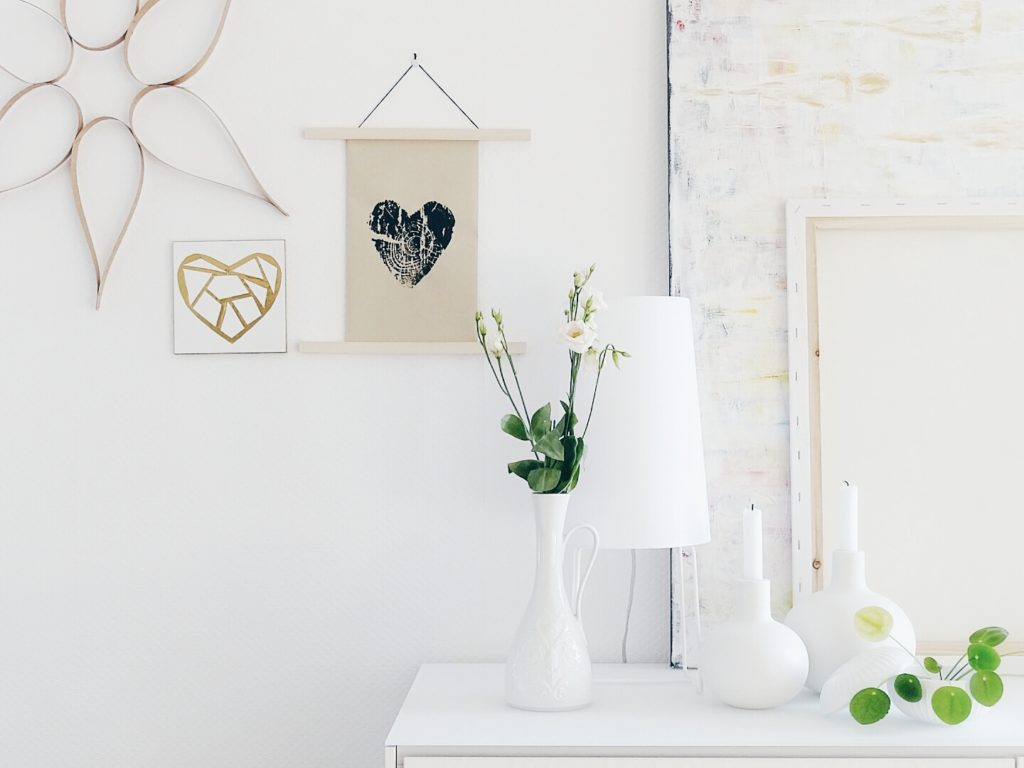 Mit Baumscheiben DIY-Wandbilder drucken | https://mammilade.blogspot.de | Personal Lifestyle, DIY and Interior Blog
