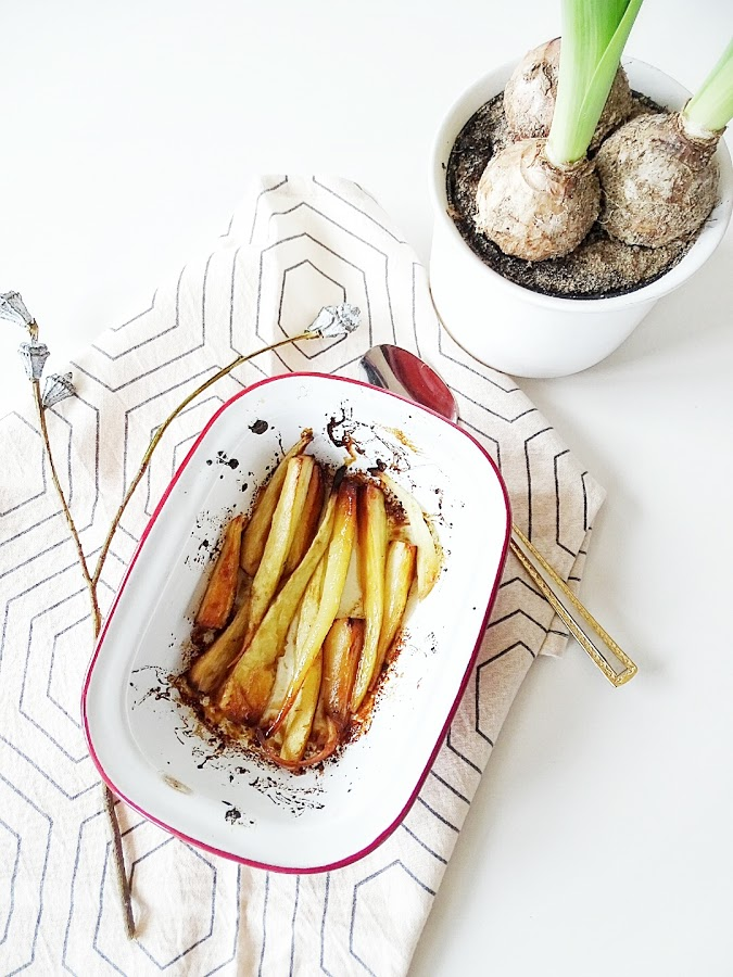 Karamellisierte Ofen-Pastinaken - 10 DIY-Nachmach-Tipps, Ideen und Rezepte für den Januar - https://mammilade.blogspot.de