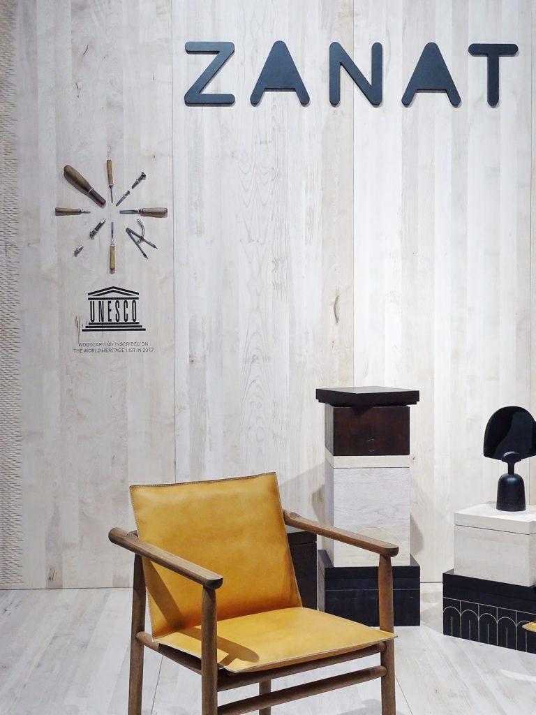 Impressionen und Trends von der Internationalen Möbelmesse 2018 in Köln - Messetour mit Blogst Lounge - Zanat - http://mammilade.blogspot.de