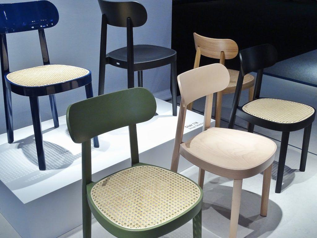 Impressionen und Trends von der Internationalen Möbelmesse 2018 in Köln - Messetour mit Blogst Lounge - Thonet - http://mammilade.blogspot.de