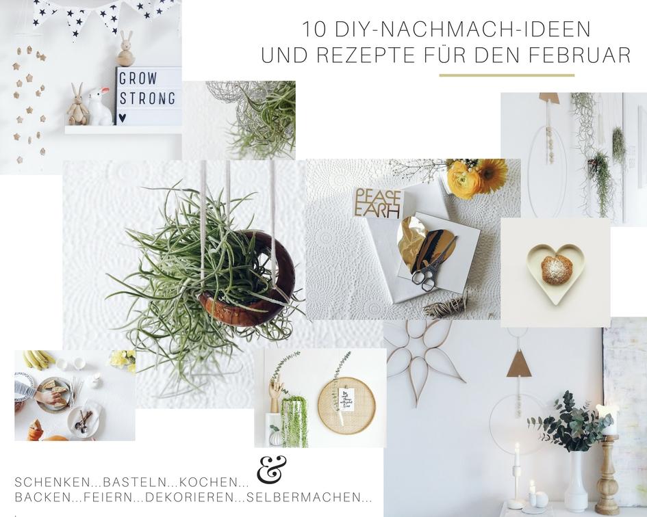 10 DIY-Nachmach-Ideen und Rezepte für den Februar | https://mammilade.blogspot.de