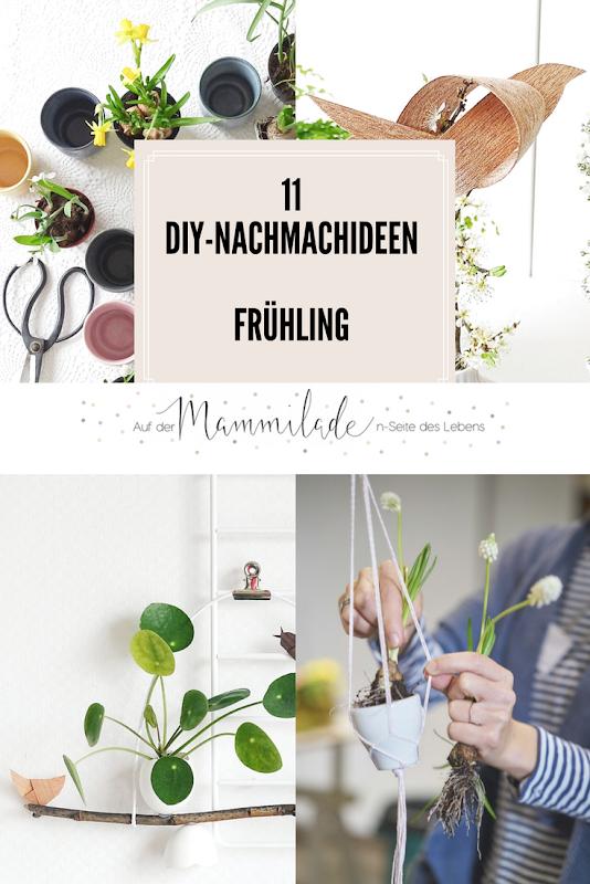 11 DIY-Nachmach-Ideen für den Frühling | https://mammilade.blogspot.de