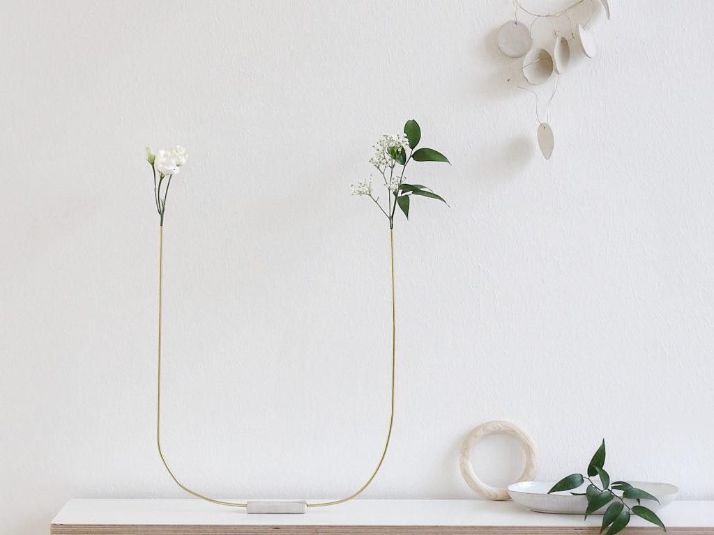 Anleitung DIY-Vase aus Messingrohren | Fotoaktion #12von12 und 1 Tag in 12 Bildern | https://mammilade.blogspot.de