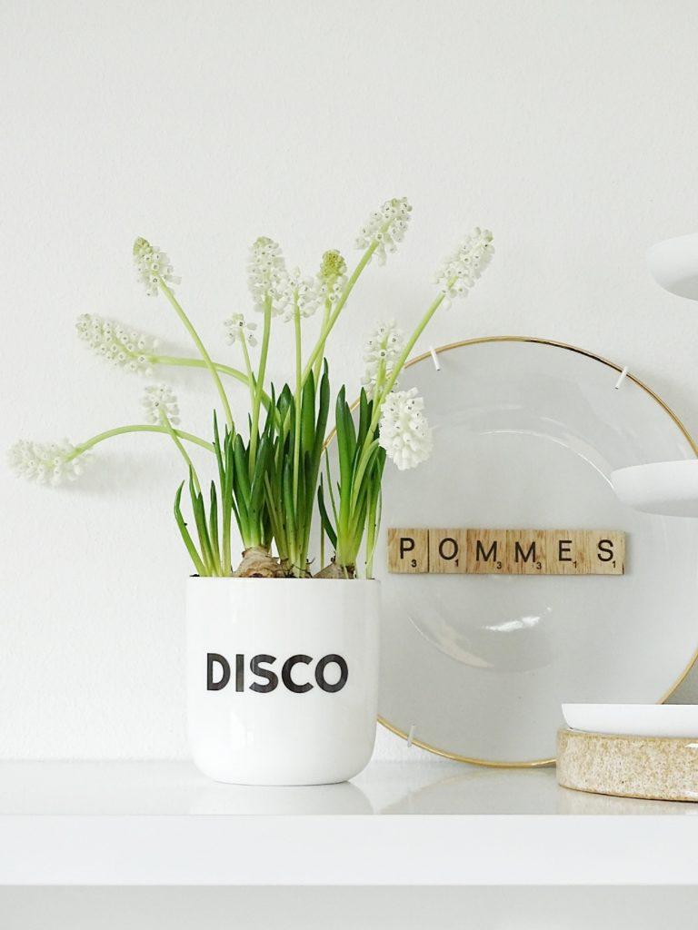Deko-Ideen im Frühling mit Frühblühern - Wochenlieblinge - https://mammilade.blogspot.de