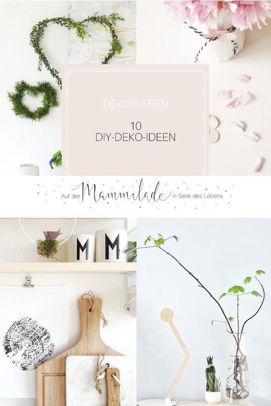 10 DIY-Deko-Ideen | https://mammilade.blogspot.de