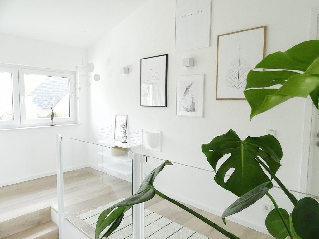 Eine Bilderwand im skandinavisch-minimalistischen Stil - https://mammilade.blogspot.de