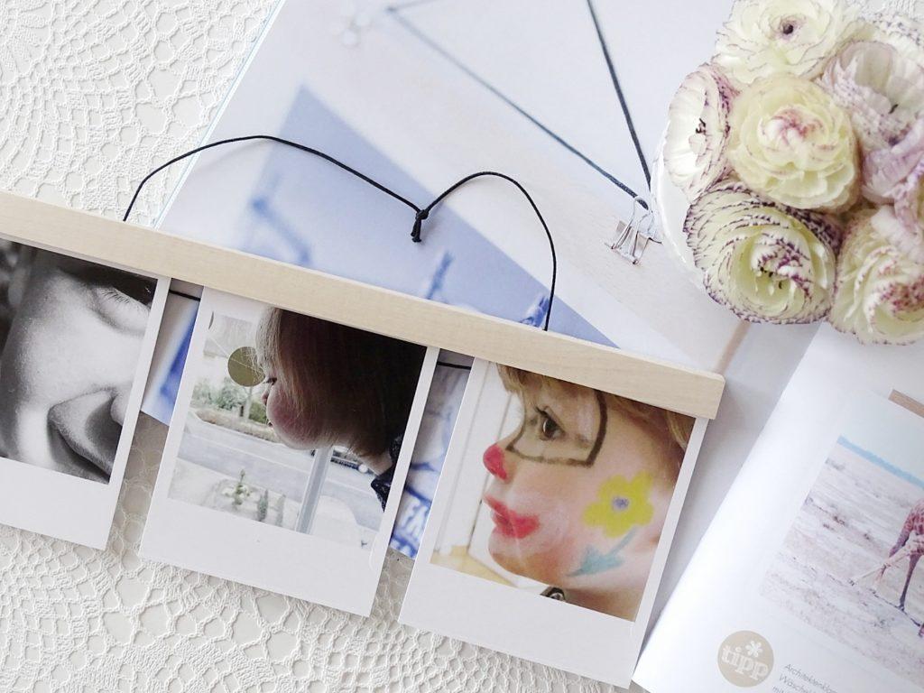 Fotos mit magnetischen Posterleisten aufhängen | 3 schnelle DIY-Ideen für das Aufhängen von Lieblingsfoto | 26 DIY-Nachmach-Ideen und Rezepte für den Mai | https://mammilade.blogspot.de