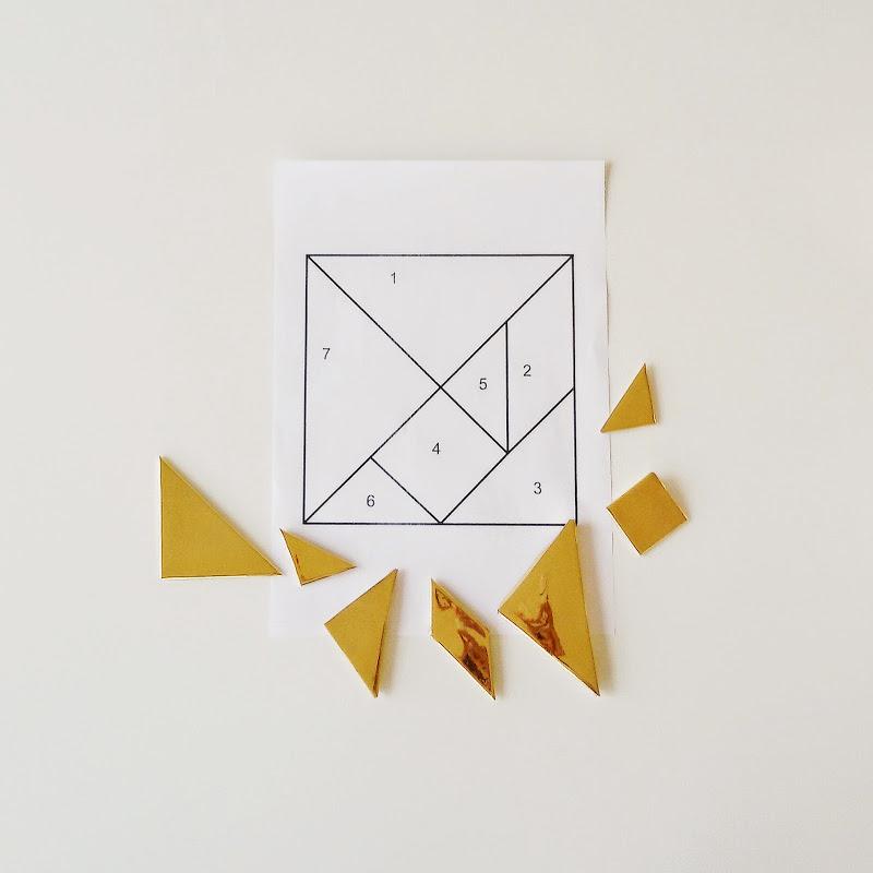 Magnetisches DIY-Tangram-Puzzle | 26 DIY-Nachmach-Ideen und Rezepte für den Mai | https://mammilade.blogspot.de